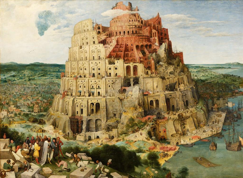 Pieter Bruegel, A Torre de Babel, 1563